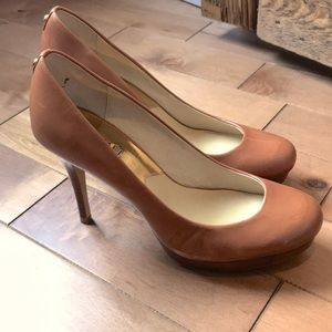 Michael Kors tan heels